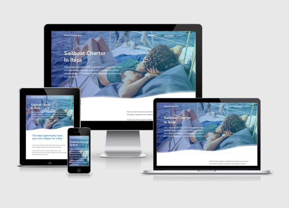 adelie web design 2